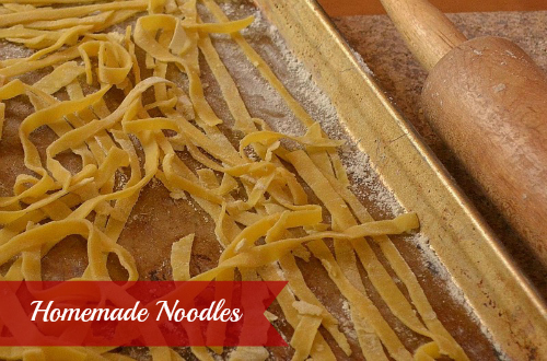 Homemade Noodle Recipe